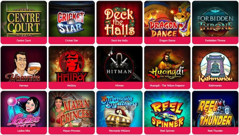 Spin Palace Jeux de Casino