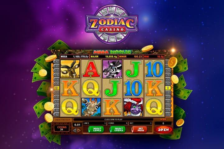 Zodiac casino jeux de casino